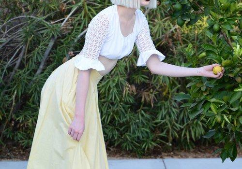 Yellow Swing Skirt