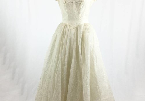 1950's Wedding Gown