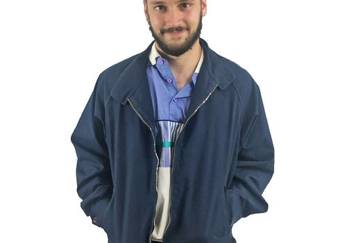 Navy Blue London Fog Jacket
