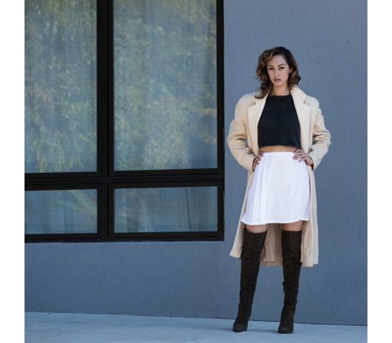 Dakota Jeane High Waist A Line Skirt