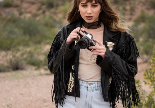 Kobler Leather Fringe Jacket