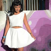 Dakota Jeane Pom Pom Mini Circle Skirt