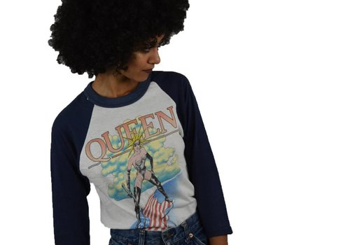 Queen Liberty Raglan Tee