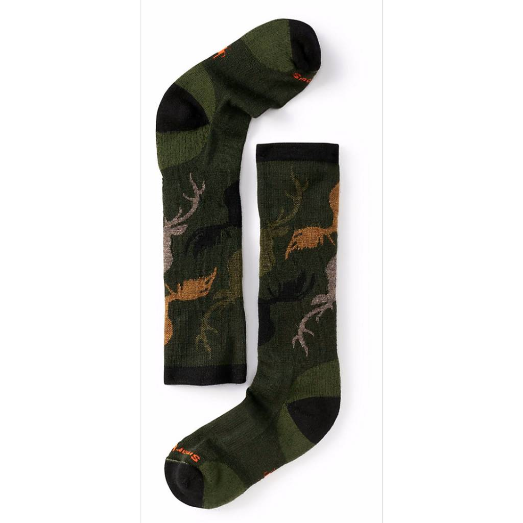 Smart Wool Smartwool Kids Wintersport Camo Socks