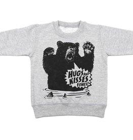 WestCoasTees Hugs and Kisses Fishes Crewneck Sweatshirt -