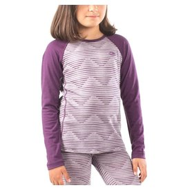 Icebreaker Kids' Oasis LS Crewe (Diamond)