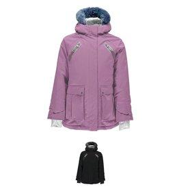 Spyder Girls' Bella Faux Fur Jacket