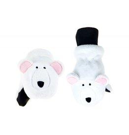 Flapjack Kids' Polar Bear Mittens