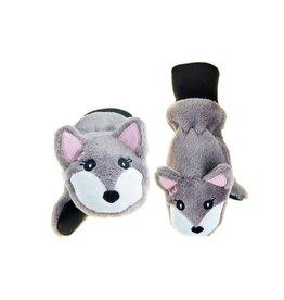 Flapjack Kids Flapjack Kids' Arctic Fox Mittens