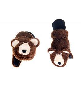 Flapjack Kids Flapjack Kids' Brown Bear Mittens