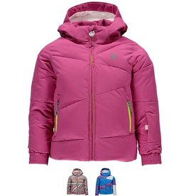 Spyder Girls Bitsy Duffy Puff Ski Jacket