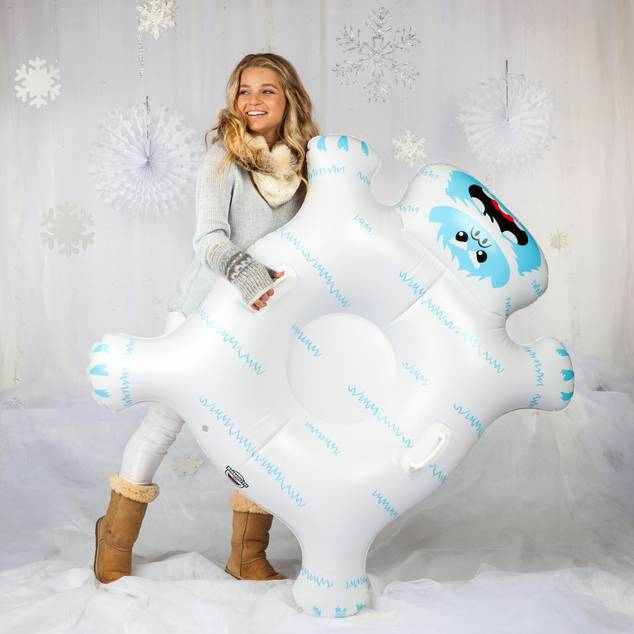 Big Inflatable Snow Tube