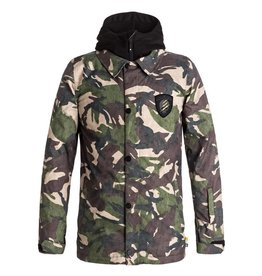 DC Shoes DC Boys' Cash Only Snow Jacket, Woodland Camo
