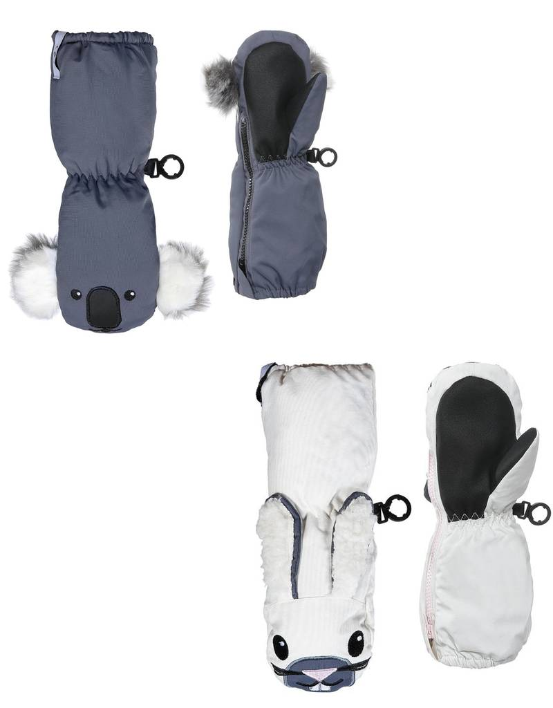 Kombi The Sherpa Animal Infant's Mitts