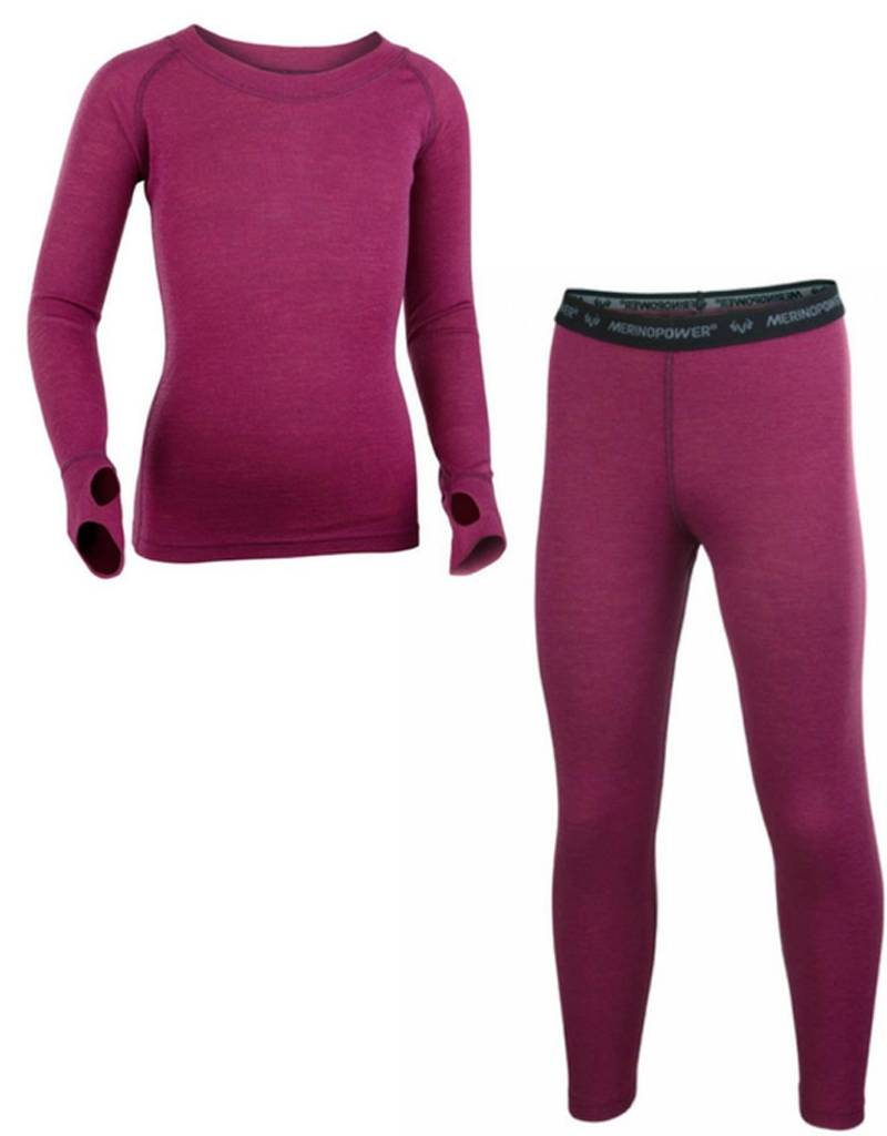 Merino Power Kids 2.0 All Mountain Base Layer Set