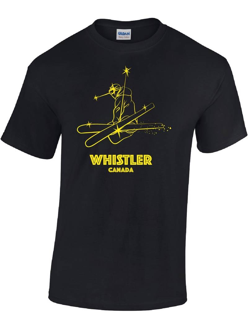 Whistler Tees Whistler Youth Freestyle Skier T-shirt