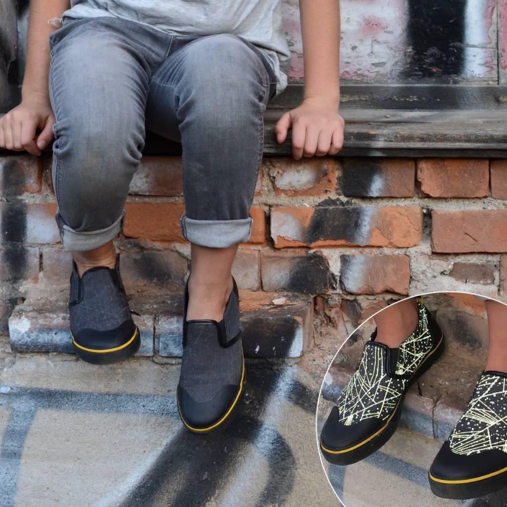 Zapped Zapped Kids Reflective Slip Ons