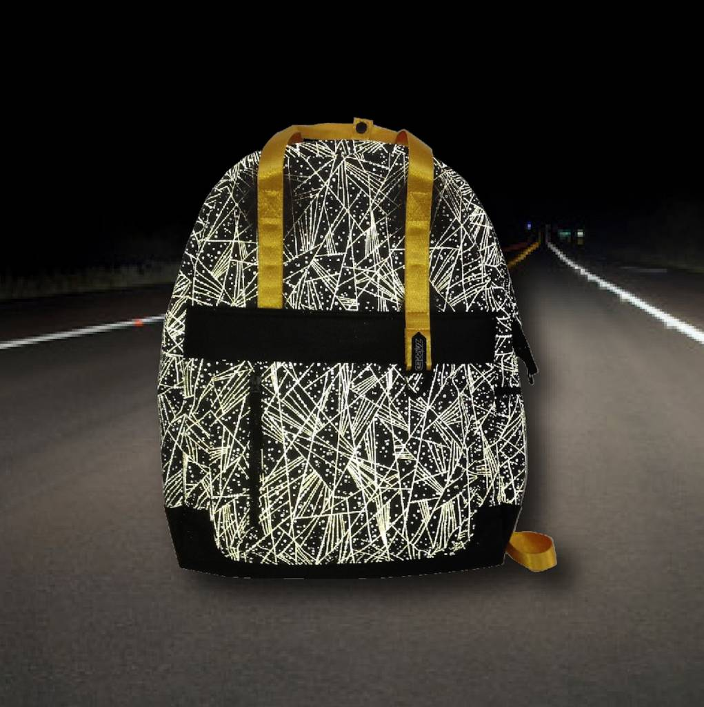 Zapped Zapped Youth Reflective Backpack