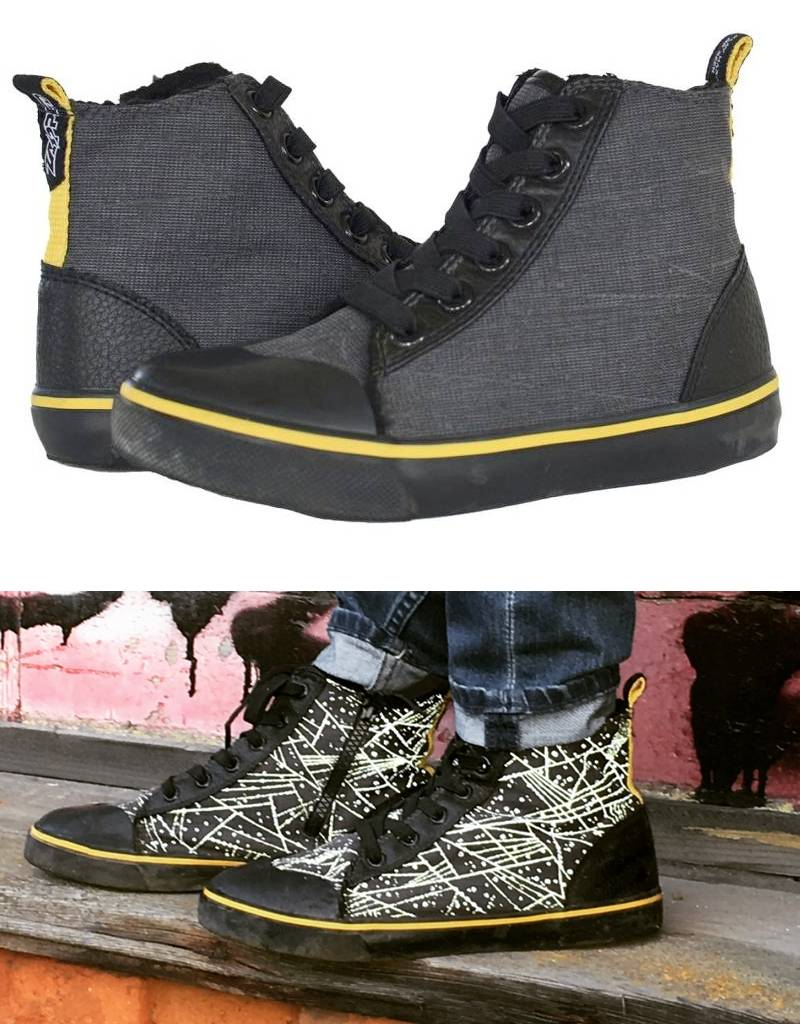 Zapped Zapped Kids Reflective High Tops