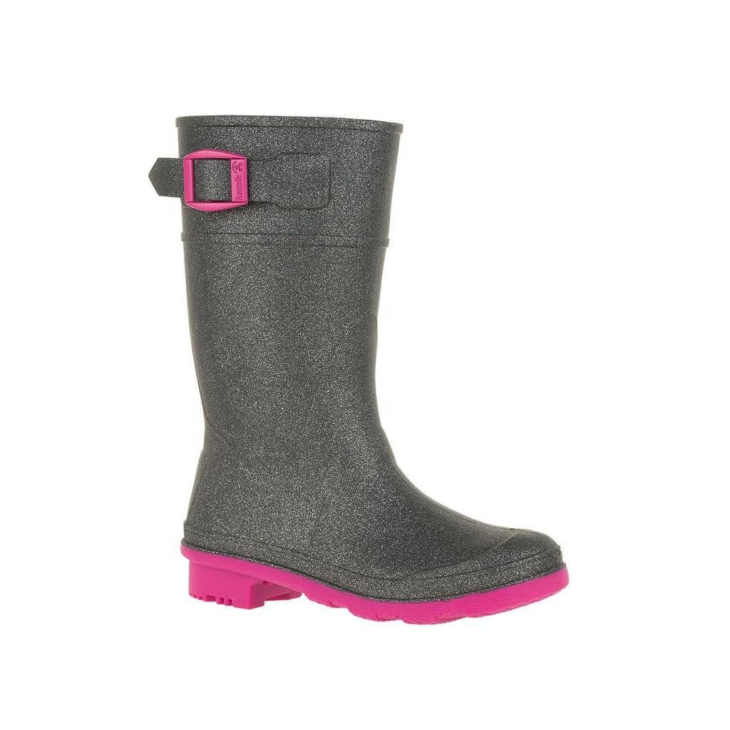 Kamik Kamik Girls' Glitzy Rain Boots