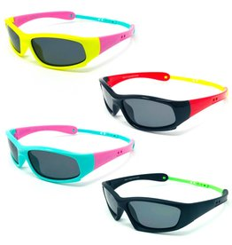 Toddler Polarized Wraparound TR90 Sunglasses