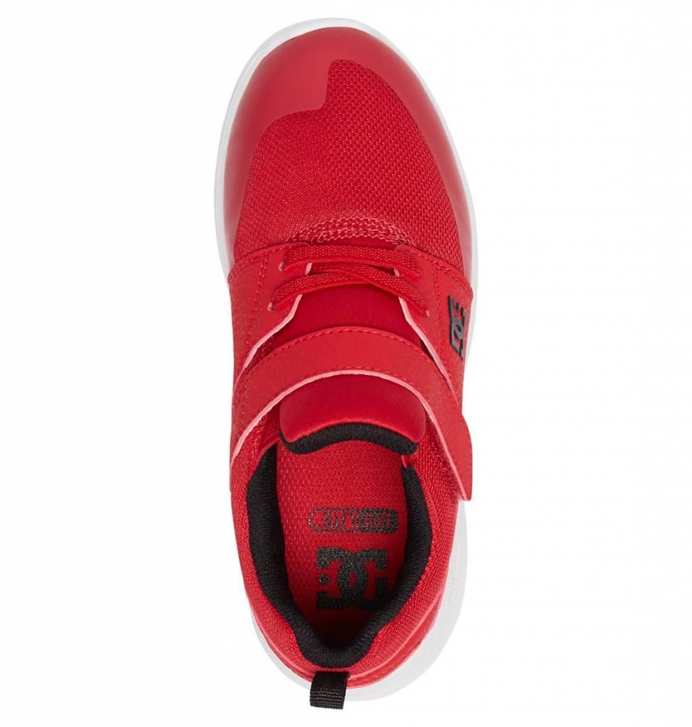 DC Shoes DC Boys Heathrow Prestige Elastic Velcro Shoes