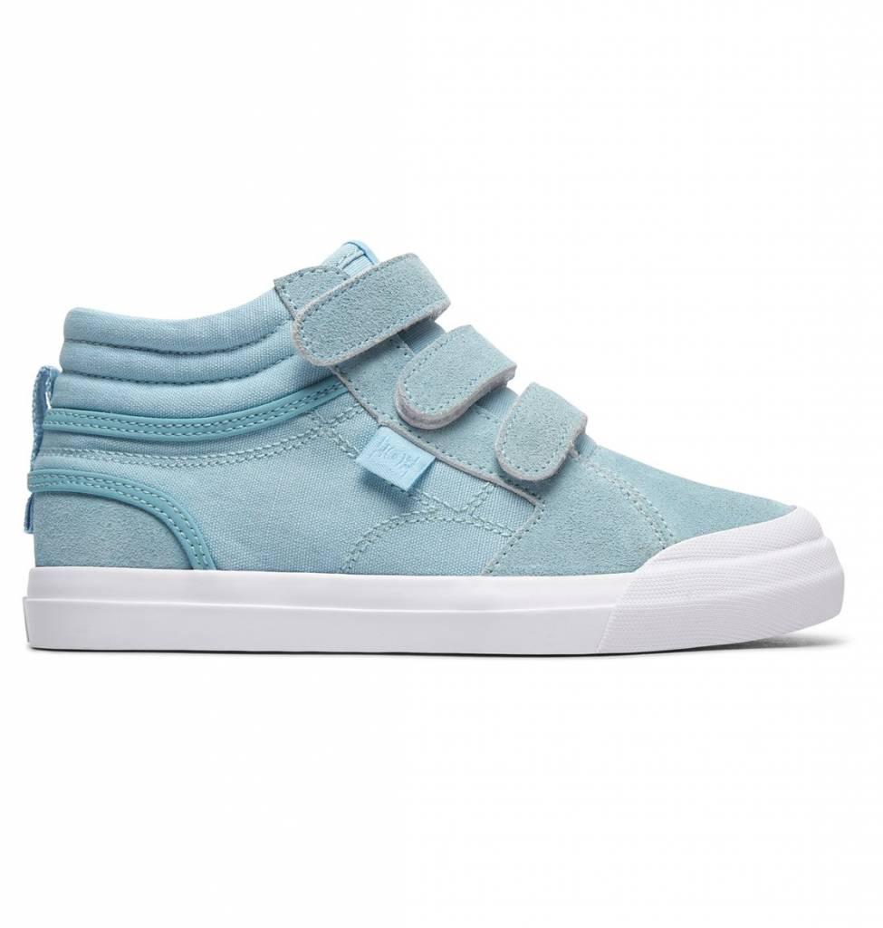 DC Shoes DC Girls Evan Hi (Velcro) High Top Shoes