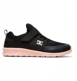 DC Shoes DC Girls Heathrow Prestige Elastic Velcro Shoes