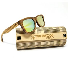 Wildwood Eyewear Wildwood Youth Zebra Wood Polarized Sunglasses