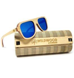 Wildwood Eyewear Wildwood Youth Skater Maple Wood Polarized Sunglasses