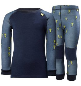 Helly Hansen 2018/19 Helly Hansen Kids Lifa Merino Base Layer Set