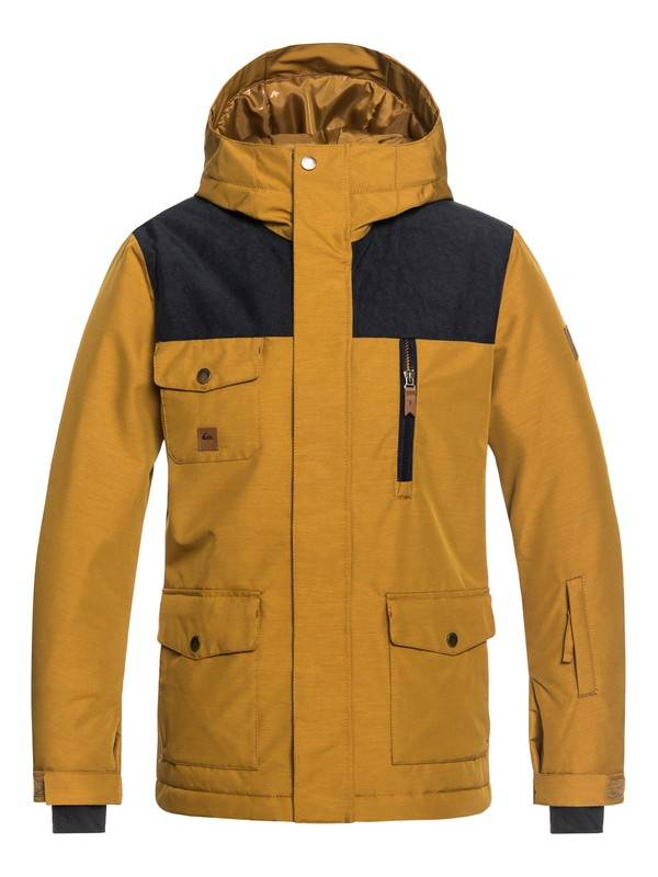 Quiksilver 2018/19 Quiksilver Boys' Raft Snow Jacket | 8-16 yrs