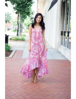 On The Road Talum Strappy Maxi Dress