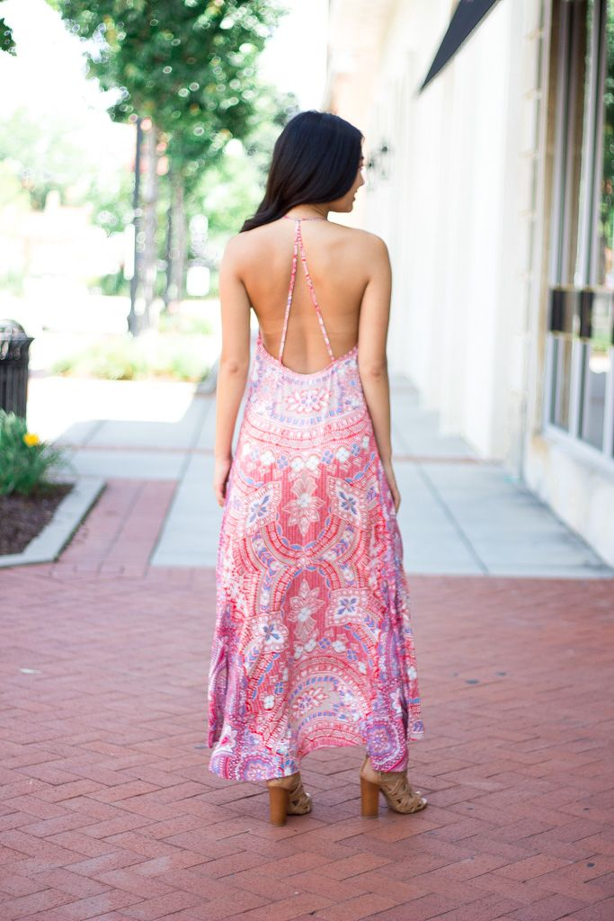 On The Road Talum Strappy Maxi Dress