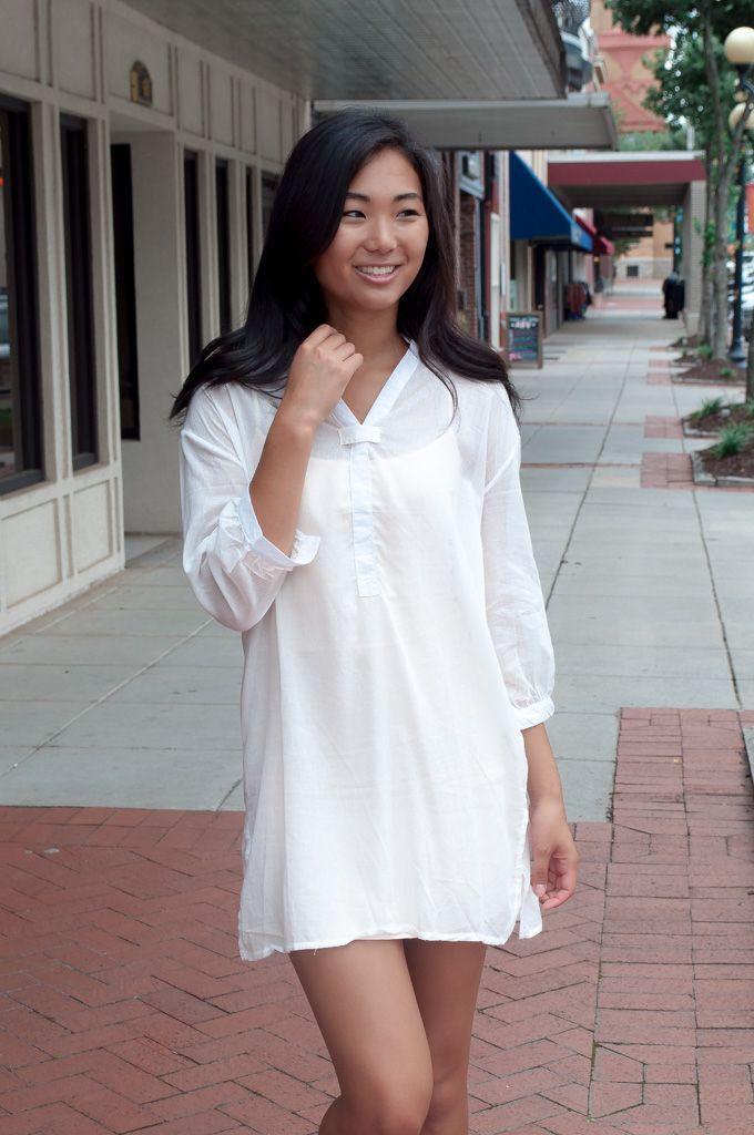 Karlie Karlie Tissue Linen Tunic