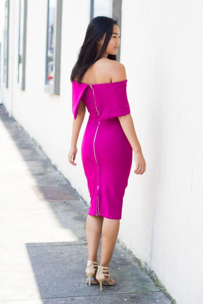 Karlie Karlie Mod Bustier Back Zip Dress
