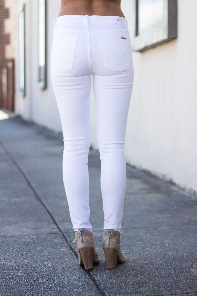 Hudson Hudson Nico Ankle Skinny in White