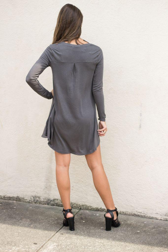Z Supply Z Supply The Long Sleeve Breezy Dress