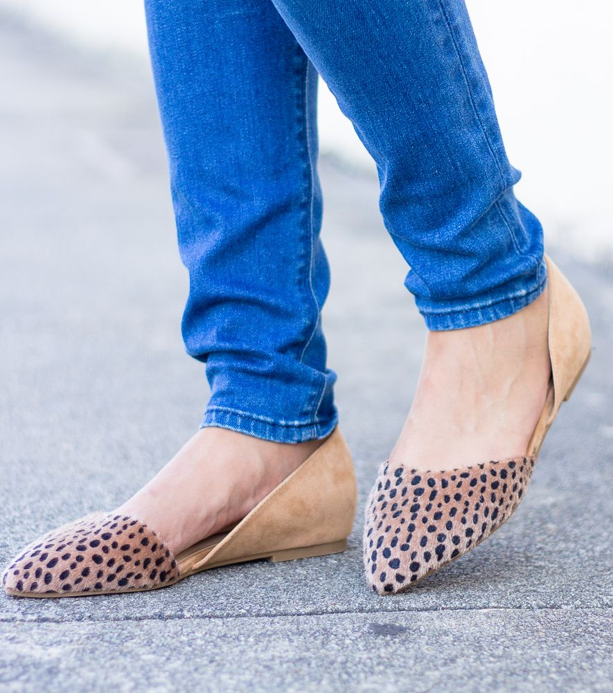Chinese Laundry Hearty Cheetah Flats