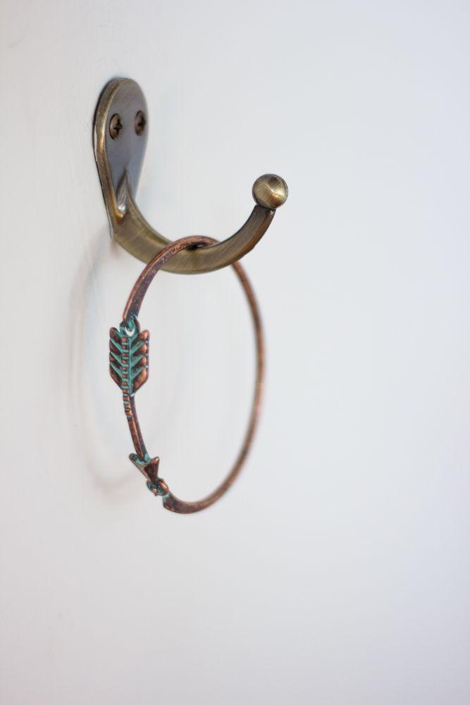 Metal Arrow Thin Metal Hook Bracelet