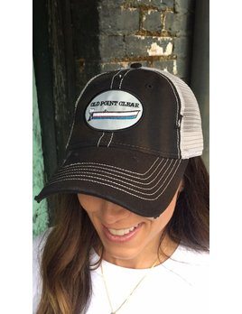 Old Point Clear Vintage Trucker Hat