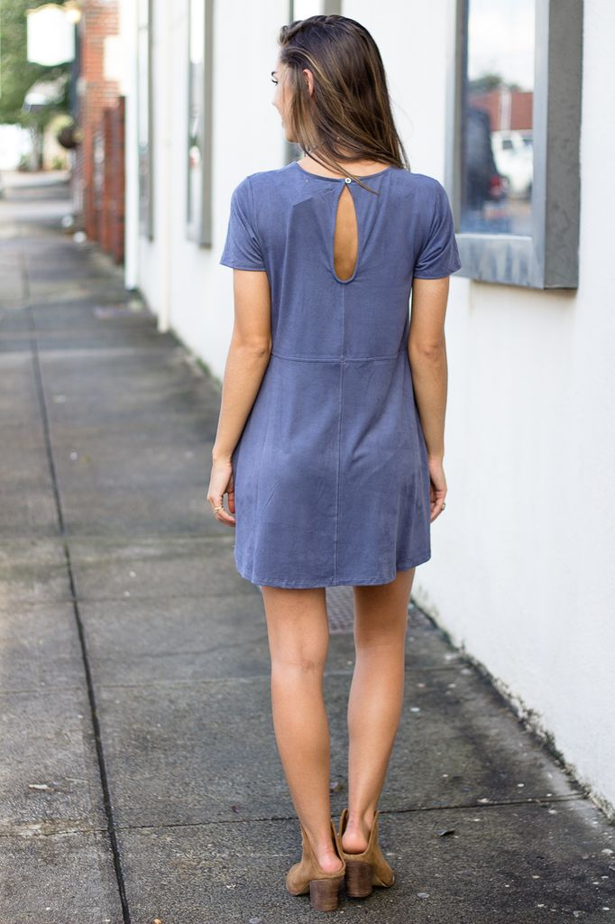 Z Supply The Suede Shift Dress