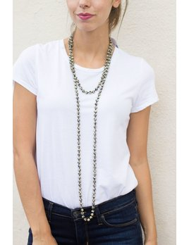 KDD Peden Long Wrap Necklace