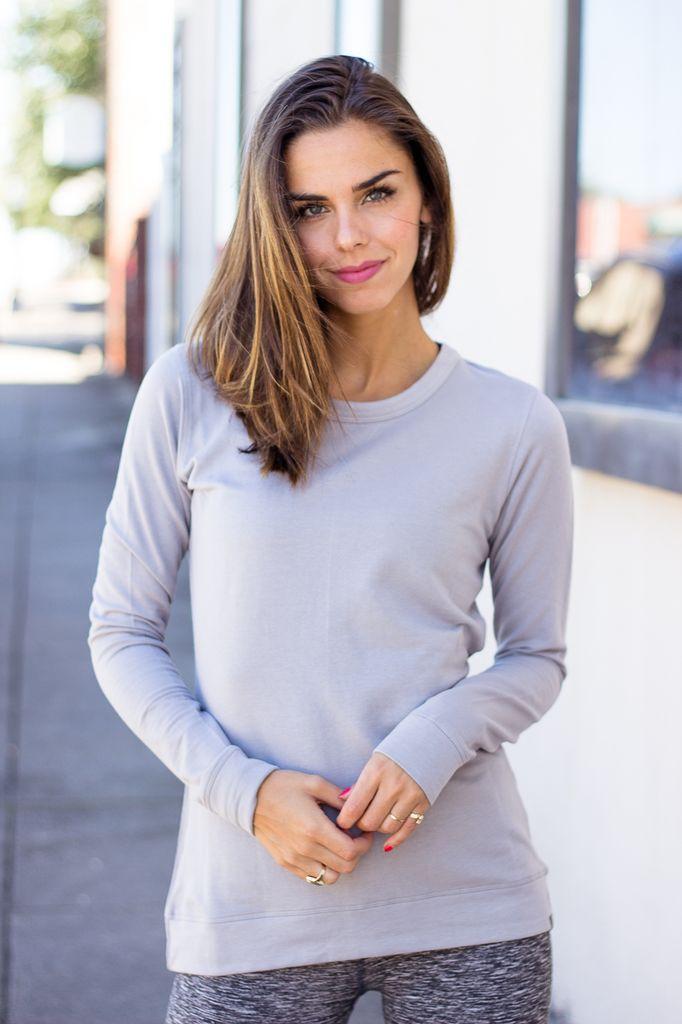 BLISS Fleece Pullover Sweatshirt