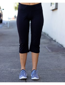 WOW II Crop Legging - Solid