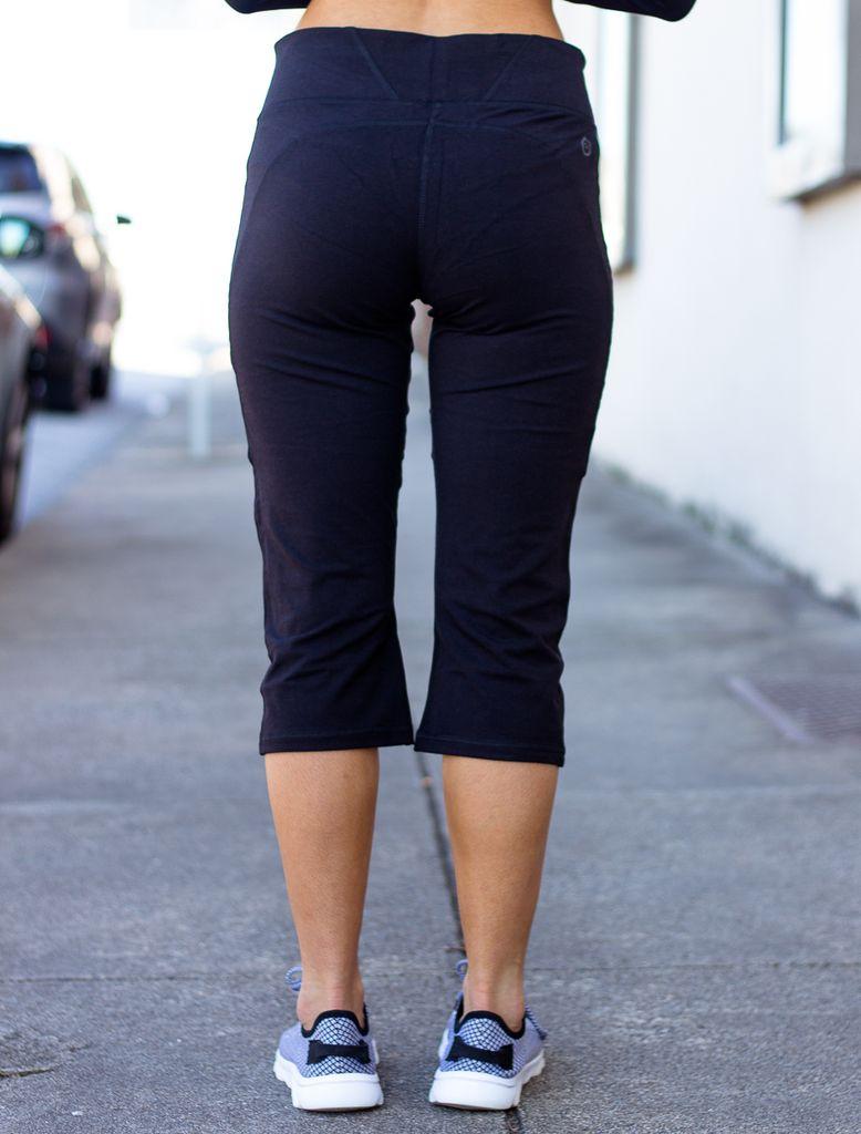 WOW II Crop Legging - Solid