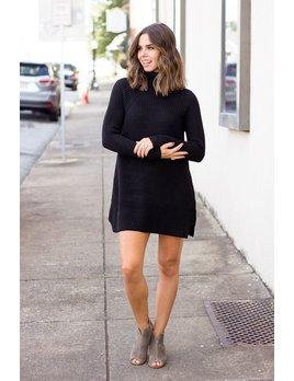 Karlie Sweater Mock Dress