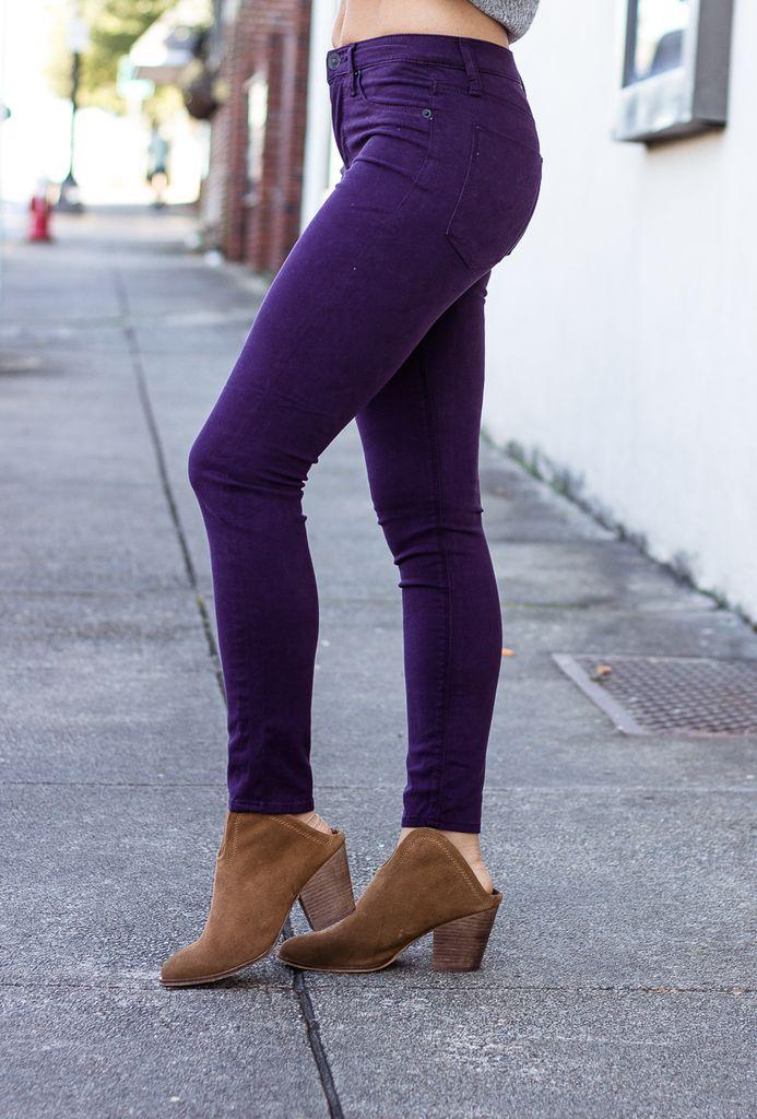 Hudson Nico Ankle in Velvet Plum