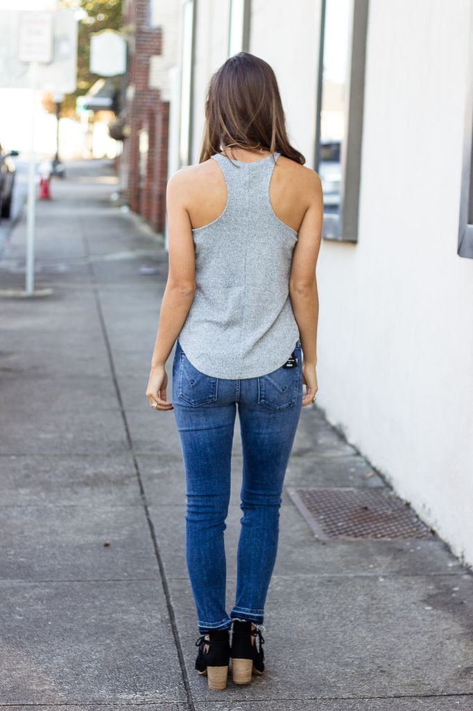 Z Supply The Brushed Rib Racer Tank