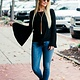 Karlie Solid Bell Sleeve Knot Front Tee